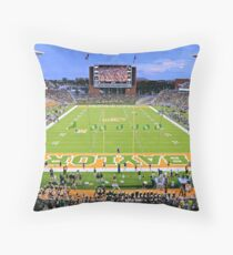 Baylor Touchdown Celebration Throw Pillow
