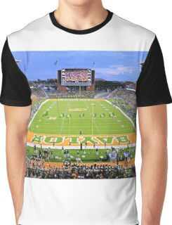 Baylor Touchdown Celebration Graphic T-Shirt