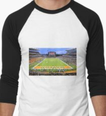 Baylor Touchdown Celebration Men's Baseball ¾ T-Shirt