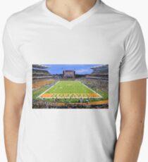 Baylor Touchdown Celebration Mens V-Neck T-Shirt