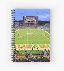 Baylor Touchdown Celebration Spiral Notebook