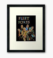Fleet Foxes Framed Print