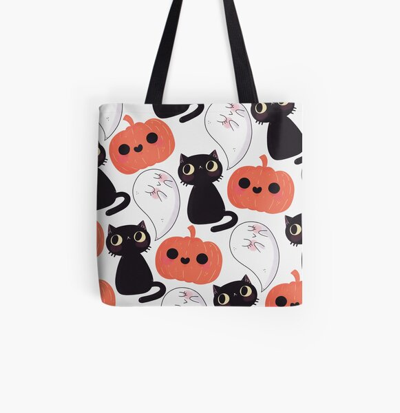 Spooky All Over Print Tote Bag