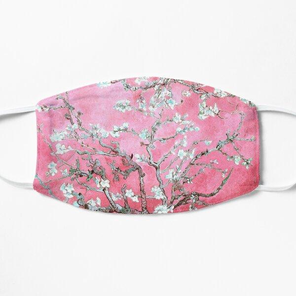 almond blossoms van gogh pink & blue Flat Mask