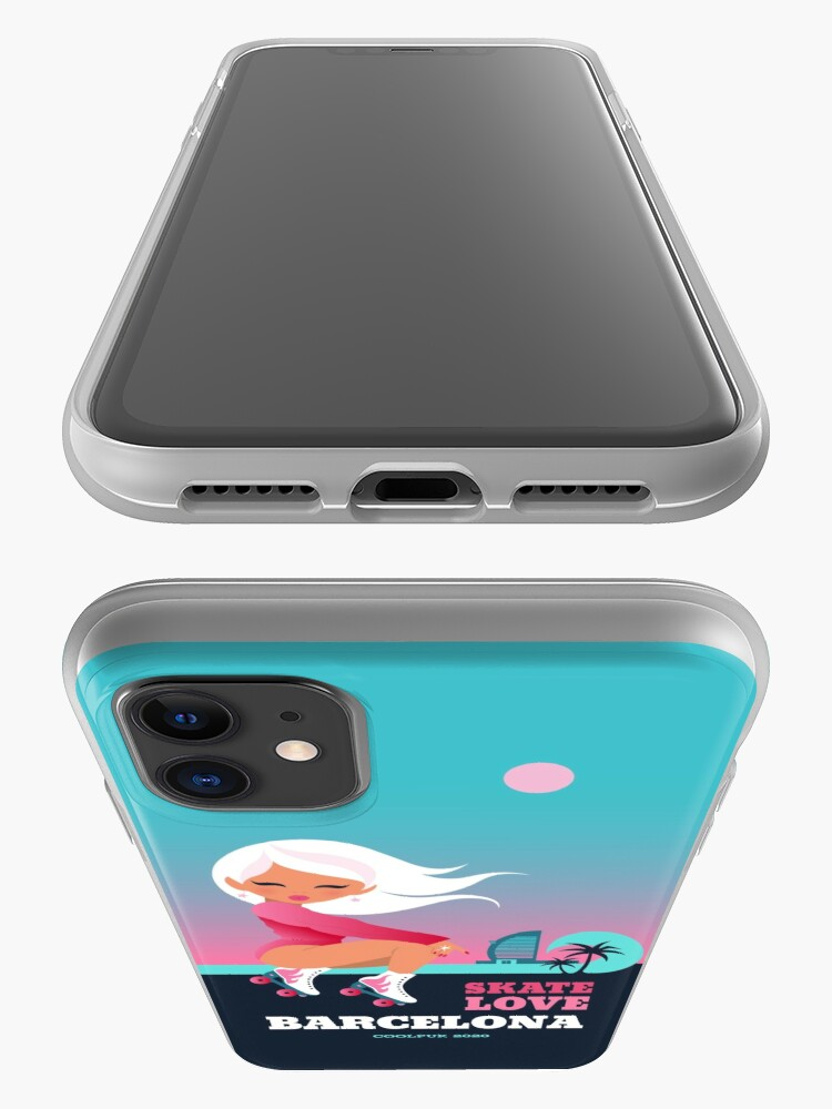 Alternate view of SKATE LOVE   iPhone Case & Cover