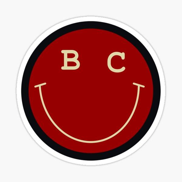 Boston College smile Sticker