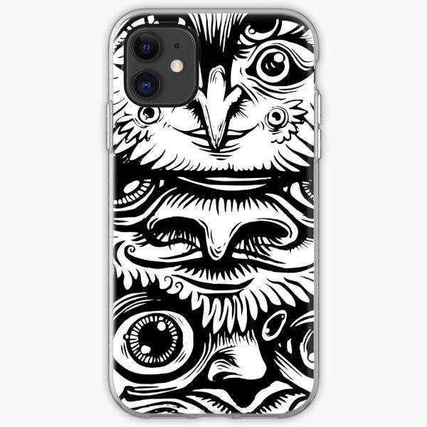 Strange Totem iPhone Soft Case