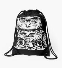 Strange Totem Drawstring Bag