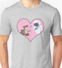 Wall-E and Eve Unisex T-Shirt