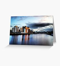 Quayside Greeting Card