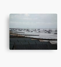 Yachts Canvas Print