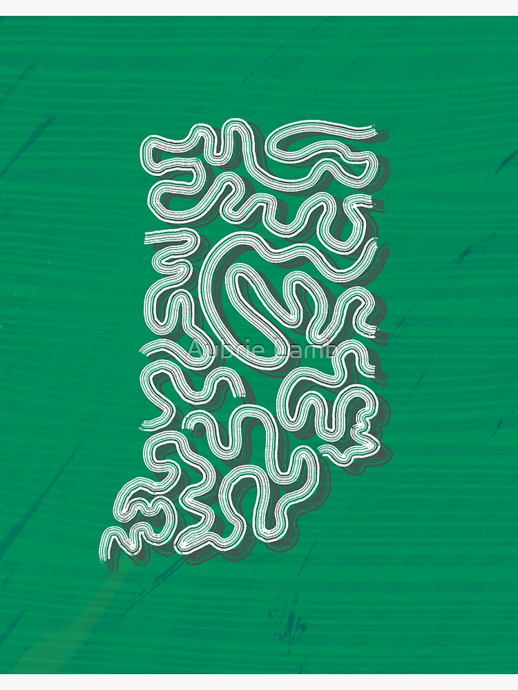 Squiggle Indiana by Aubb