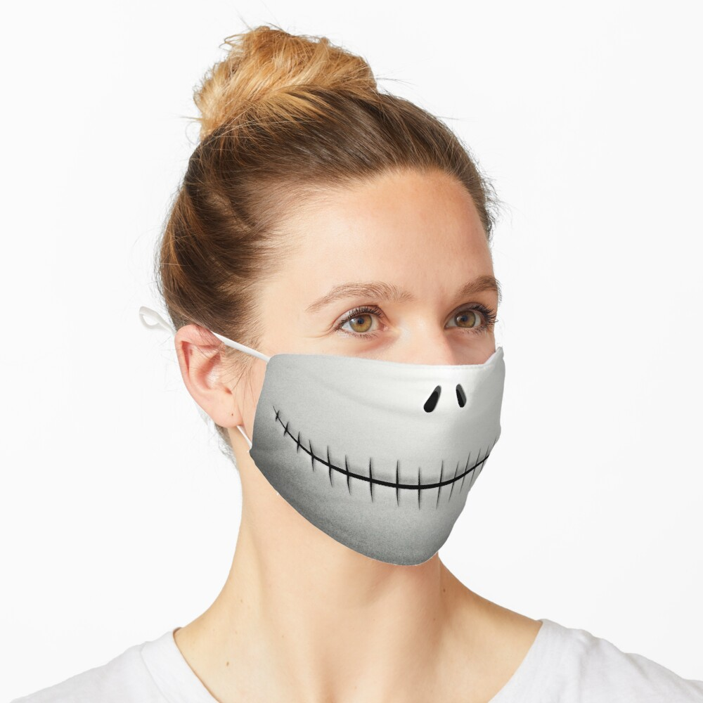 The Pumpkin King's Smile Mask