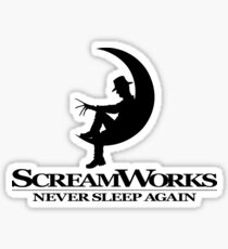 ScreamWorks (Black) Sticker