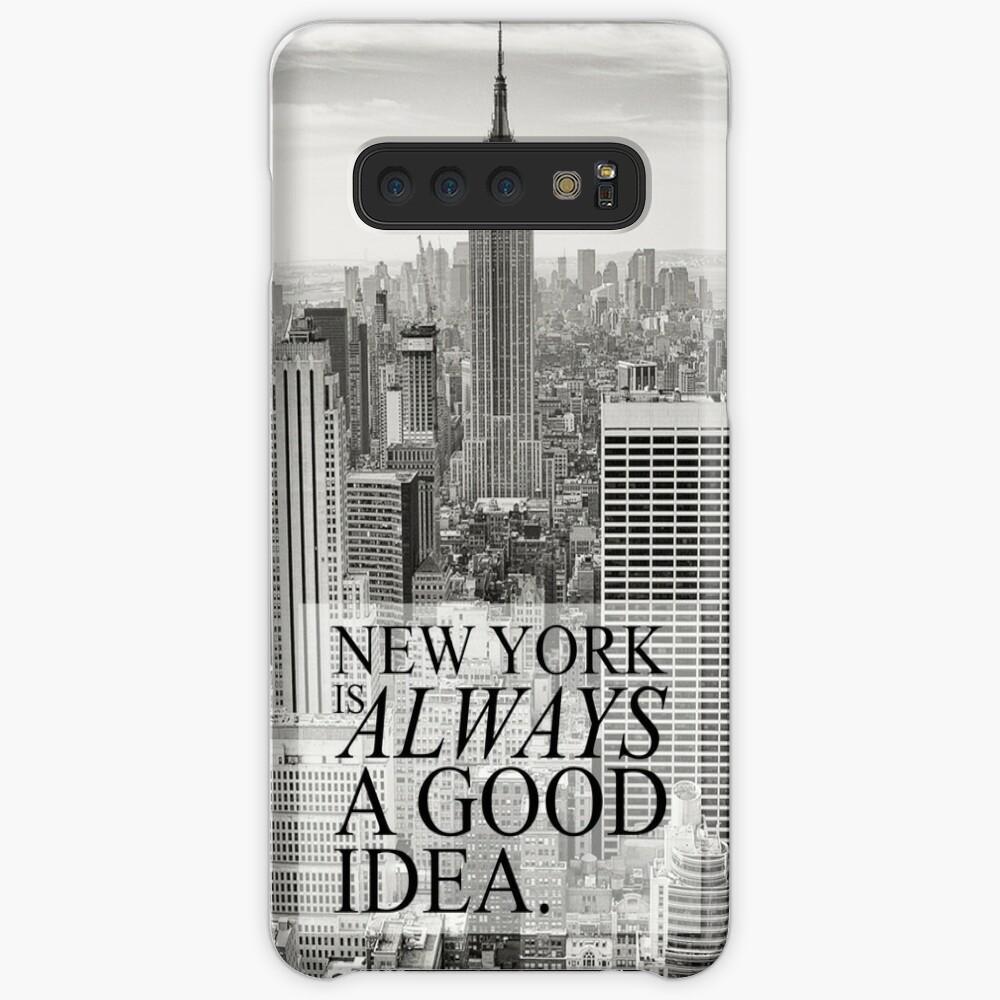 Nueva York es siempre una buena idea Fundas y vinilos para Samsung Galaxy