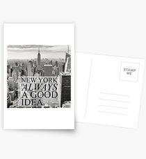 New York is Always a Good Idea Postcards