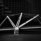Bridge across the Yarra by Peter Hammer
