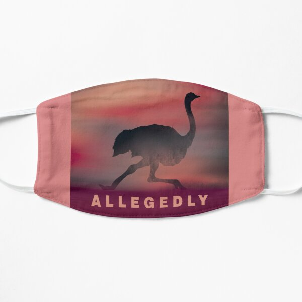 Funny allegedly ostrich Mask