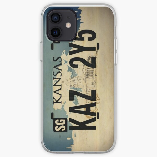 Plaque d'immatriculation Impala de Winchester Coque souple iPhone