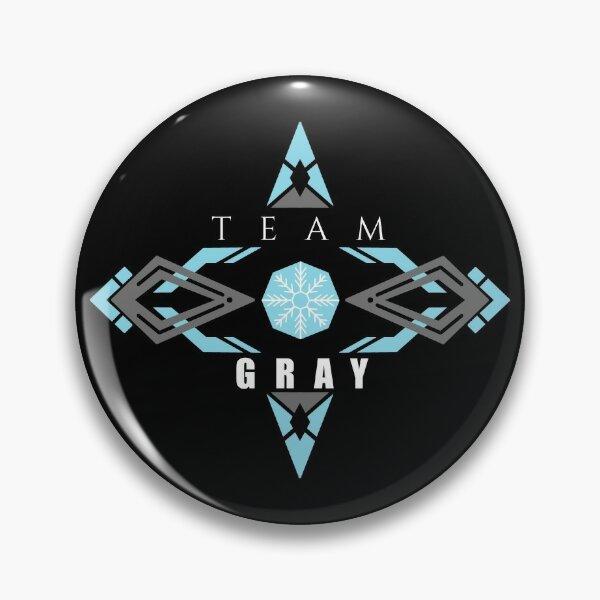Gray ice magic blue   Fairy tail anime emblem  v2 Pin