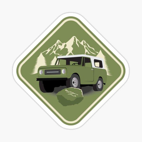 International Harvester Scout (Snowrunner) Sticker