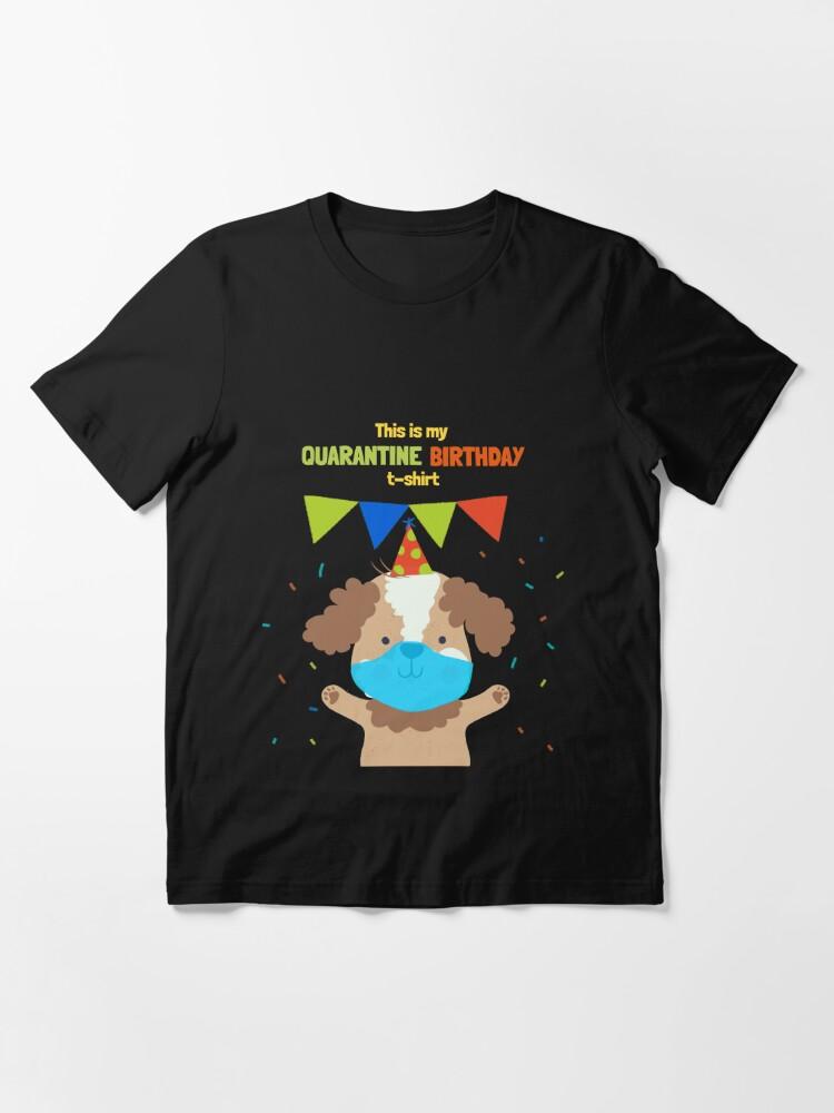 Childrens Personalised Lockdown T-Shirt Birthday Quarantine Fun Boys Top Gift
