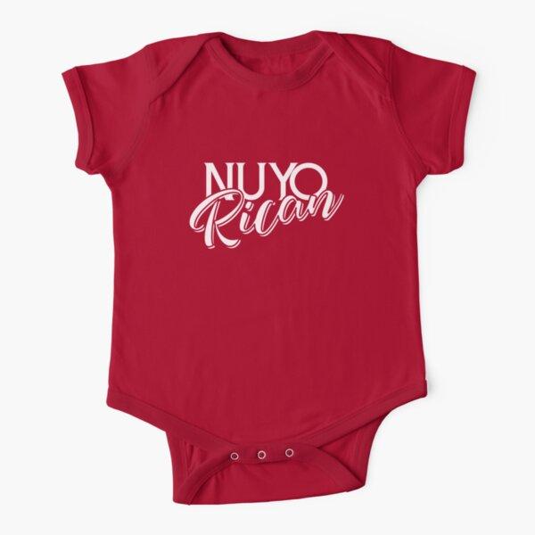 Nuyorican New Yorker Puerto Rican - Puerto Rico y Nueva York Short Sleeve Baby One-Piece