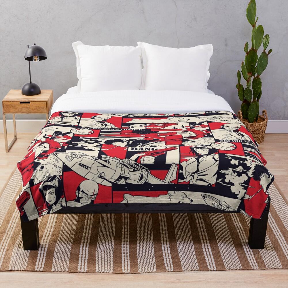 Bebop Pattern Throw Blanket