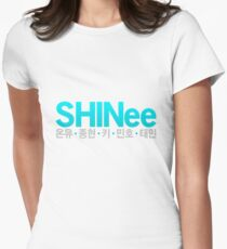 SHINee Women's Fitted T-Shirt