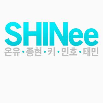 SHINee by fyzzed