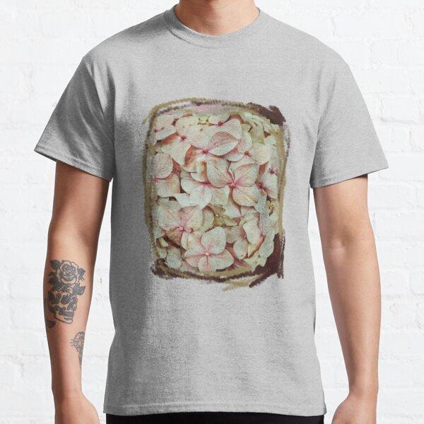 Hortensias Rosadas Camiseta clásica