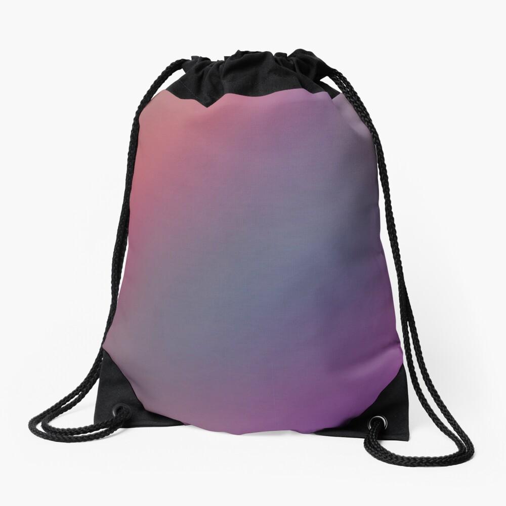 Purple Pink Background Drawstring Bag