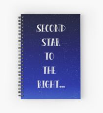 Peter Pan Neverland Inspired Once Upon a Time. Spiral Notebook