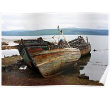 Wrecks of Mull Poster