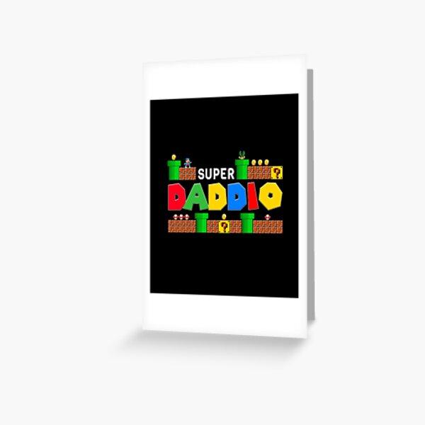 Super Daddio shirt, Father's Day, Super Dad, Father Gift Idea, Funny Dad, Super Daddio, Greeting Card