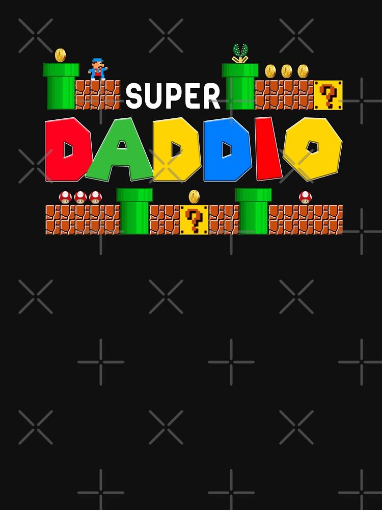 Super Daddio shirt, Father's Day, Super Dad, Father Gift Idea, Funny Dad, Super Daddio, by Tawnza