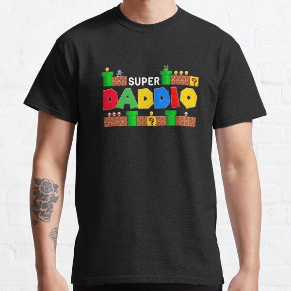 Super Daddio shirt, Father's Day, Super Dad, Father Gift Idea, Funny Dad, Super Daddio, Classic T-Shirt