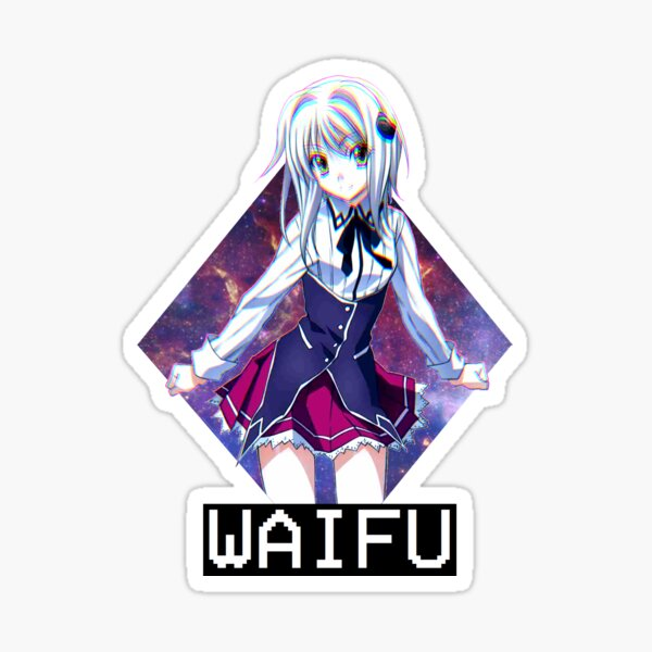 Koneko Space Waifu Sticker