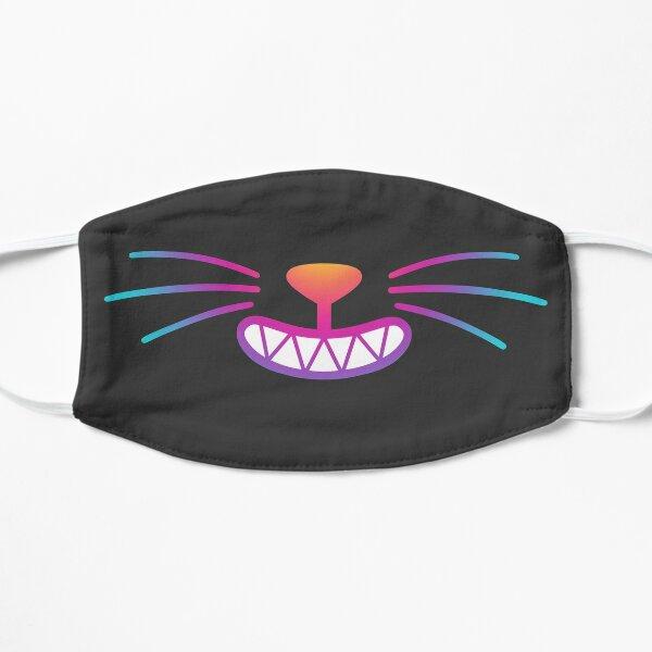 Rainbow Grinning Cat Smile Mask