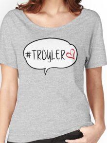 #TROYLER Women's Relaxed Fit T-Shirt