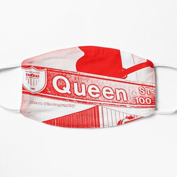 Queen Street, Inglewood, CA RED SPECIAL4 by Mistah Wilson Mask