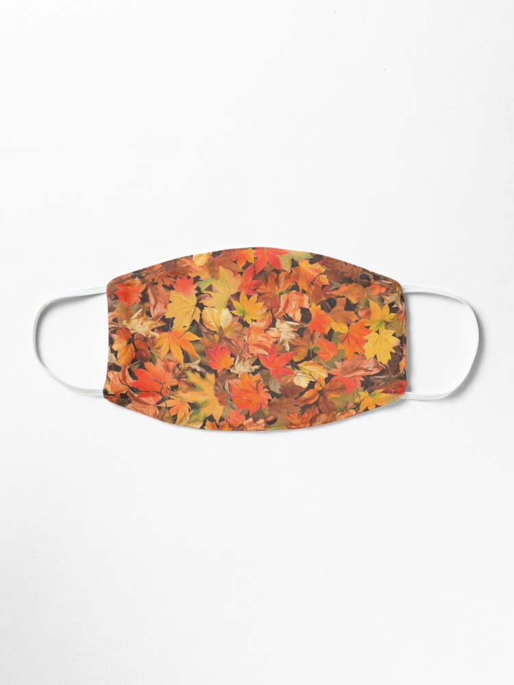 Alternate view of Autumn leaves Mask