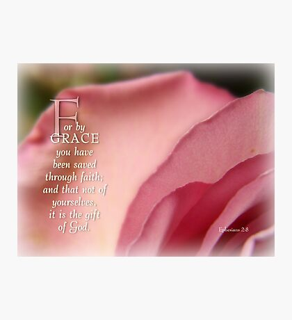 By Grace~inspirational Photographic Print