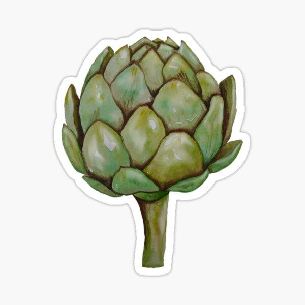 Even artichokes have hearts Sticker
