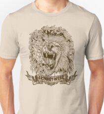 Lionart Roar, Bones Unisex T-Shirt