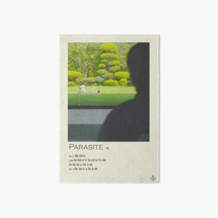 Cartel de película Polaroid de parásito Lámina rígida