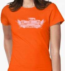 Pink Cadillac Womens Fitted T-Shirt