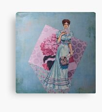 Ladies of Fashion: Jeanne Canvas Print