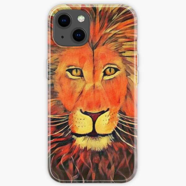 Blazing Lion iPhone Soft Case