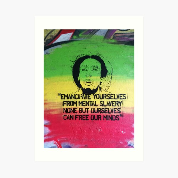 Emancipate yourself Art Print